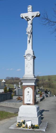 Hlavní hřbitovní kříž